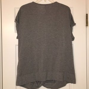 a.n.a Tops - A.n.a. XL Gray Knotted Blouse